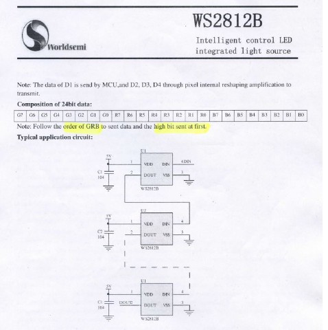 WS2812b Timing 2